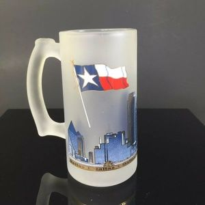 Other - Dallas Texas Souvenir Glass Large Beer Mug